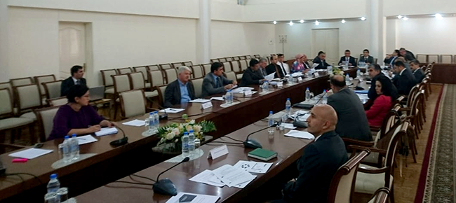Presenting the Concept for Strengthening Tajikistan PMCG